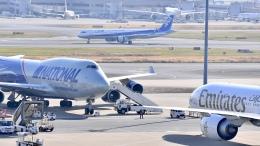 flytaka78さんが、羽田空港で撮影したナショナル・エアラインズ 747-428(BCF)の航空フォト(飛行機 写真・画像)