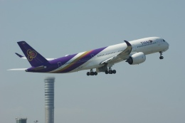 磐城さんが、スワンナプーム国際空港で撮影したタイ国際航空 A350-941の航空フォト(飛行機 写真・画像)