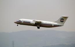 LEVEL789さんが、岡山空港で撮影した中国西北航空 BAe-146-300の航空フォト(飛行機 写真・画像)