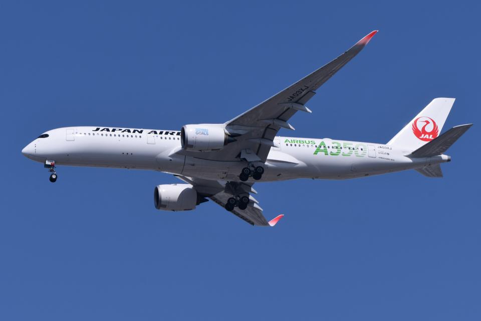TOPAZ102さんの日本航空 Airbus A350-900 (JA03XJ) 航空フォト