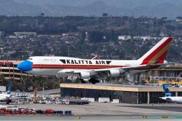 LAX Spotterさんが、ロサンゼルス国際空港で撮影したカリッタ エア 747-446(BCF)の航空フォト(飛行機 写真・画像)