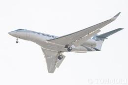 遠森一郎さんが、福岡空港で撮影したウィルミントン・トラスト・カンパニー G650ER (G-VI)の航空フォト(飛行機 写真・画像)