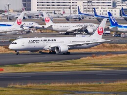 mich_stoneさんが、羽田空港で撮影した日本航空 787-9の航空フォト(飛行機 写真・画像)