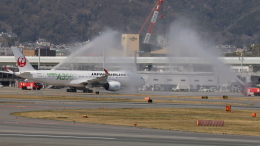 senchouさんが、伊丹空港で撮影した日本航空 A350-941の航空フォト(飛行機 写真・画像)