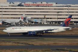 KOKI_ANA-Brussels767さんが、羽田空港で撮影したデルタ航空 777-232/ERの航空フォト(飛行機 写真・画像)