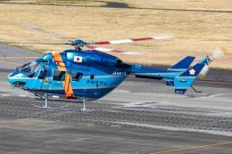 T spotterさんが、名古屋飛行場で撮影した茨城県警察 BK117C-1の航空フォト(飛行機 写真・画像)
