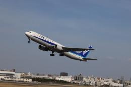 senchouさんが、伊丹空港で撮影した全日空 767-381/ERの航空フォト(飛行機 写真・画像)