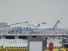 taiki_jcg__jediさんが、横浜海上防災基地で撮影した海上保安庁 S-76Dの航空フォト(飛行機 写真・画像)