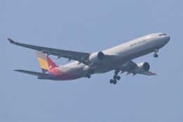JUTENさんが、中部国際空港で撮影したアシアナ航空 A330-323Xの航空フォト(飛行機 写真・画像)
