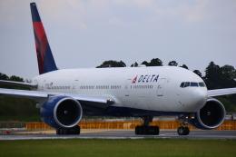 ちゅういちさんが、成田国際空港で撮影したデルタ航空 777-232/LRの航空フォト(飛行機 写真・画像)