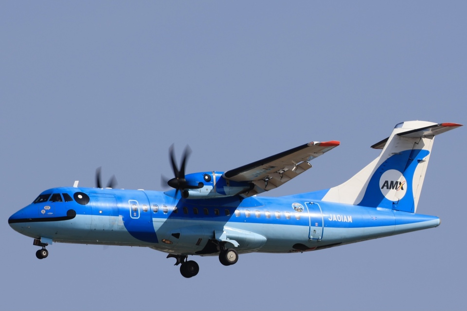 Fly Yokotayaさんの天草エアライン ATR 42 (JA01AM) 航空フォト