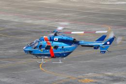 yabyanさんが、名古屋飛行場で撮影した茨城県警察 BK117C-1の航空フォト(飛行機 写真・画像)