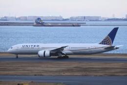 KOKI_ANA-Brussels767さんが、羽田空港で撮影したユナイテッド航空 787-9の航空フォト(飛行機 写真・画像)