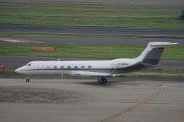 神宮寺ももさんが、羽田空港で撮影したBMW Flugdienst G-V-SP Gulfstream G550の航空フォト(飛行機 写真・画像)