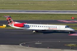 chrisshoさんが、デュッセルドルフ国際空港で撮影したローガンエアー ERJ-145EPの航空フォト(飛行機 写真・画像)