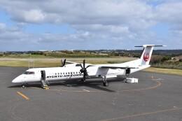 こじゆきさんが、与論空港で撮影した琉球エアーコミューター DHC-8-402Q Dash 8 Combiの航空フォト(飛行機 写真・画像)