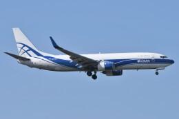 デルタおA330さんが、成田国際空港で撮影したアトラン・アヴィアトランス・カーゴ・エアラインズ 737-86N(BCF)の航空フォト(飛行機 写真・画像)