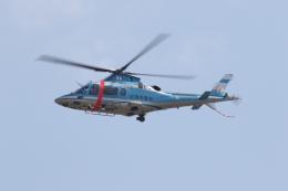 ゴンタさんが、名古屋飛行場で撮影した滋賀県警察 A109E Powerの航空フォト(飛行機 写真・画像)