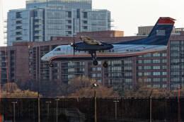 Airliners Freakさんが、ロナルド・レーガン・ワシントン・ナショナル空港で撮影したUSエアウェイズ・エクスプレスの航空フォト(飛行機 写真・画像)