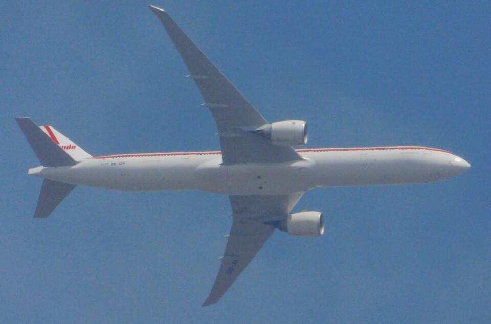 さんまるエアラインさんのガルーダ・インドネシア航空 Boeing 777-300 (PK-GIG) 航空フォト