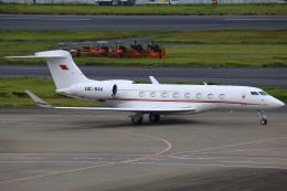 ちゅういちさんが、羽田空港で撮影したバーレーン王室航空 G-IV Gulfstream IV-SPの航空フォト(飛行機 写真・画像)