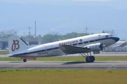 Qualiflyerさんが、熊本空港で撮影したスーパーコンステレーション飛行協会 DC-3Aの航空フォト(飛行機 写真・画像)