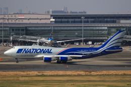 TKK744さんが、羽田空港で撮影したナショナル・エアラインズ 747-428(BCF)の航空フォト(飛行機 写真・画像)