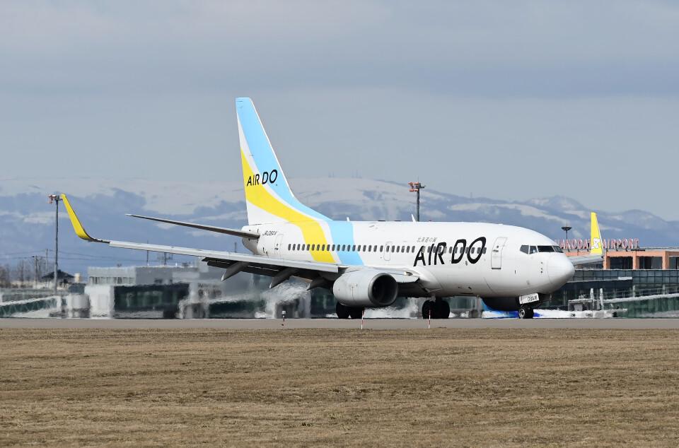 DojalanaさんのAIR DO Boeing 737-700 (JA08AN) 航空フォト