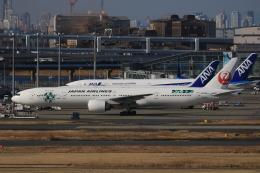 TKK744さんが、羽田空港で撮影した日本航空 777-346/ERの航空フォト(飛行機 写真・画像)