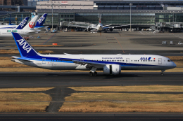 TKK744さんが、羽田空港で撮影した全日空 787-9の航空フォト(飛行機 写真・画像)