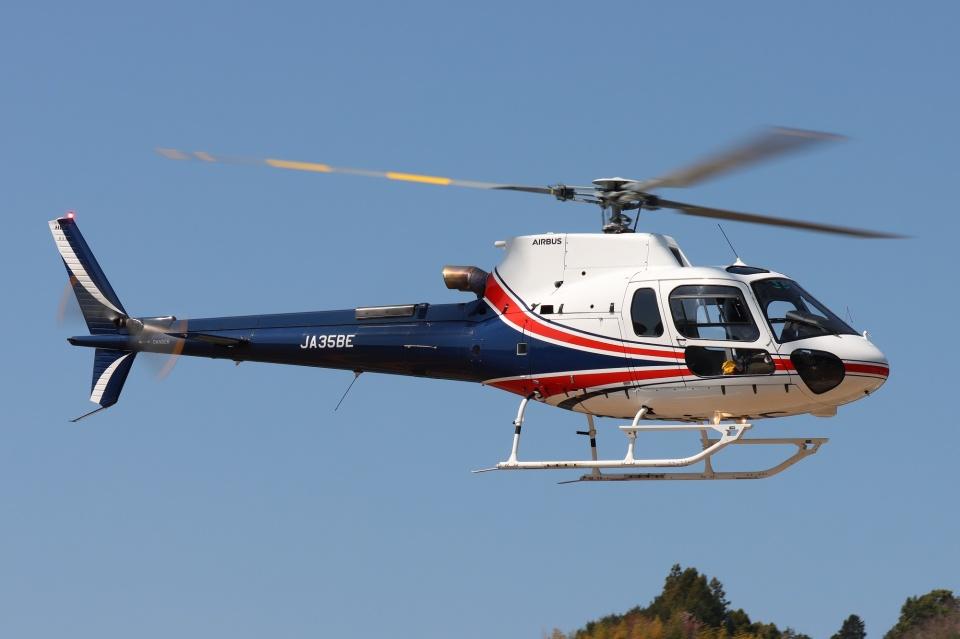 ブルーさんさんのノエビア Airbus Helicopters H125 (JA35BE) 航空フォト