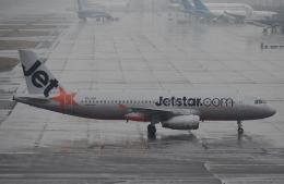 鉄バスさんが、関西国際空港で撮影したジェットスター・アジア A320-232の航空フォト(飛行機 写真・画像)