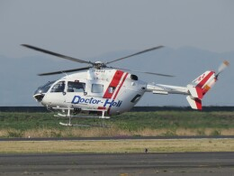 F.YUKIHIDEさんが、岡南飛行場で撮影したセントラルヘリコプターサービス BK117C-2の航空フォト(飛行機 写真・画像)