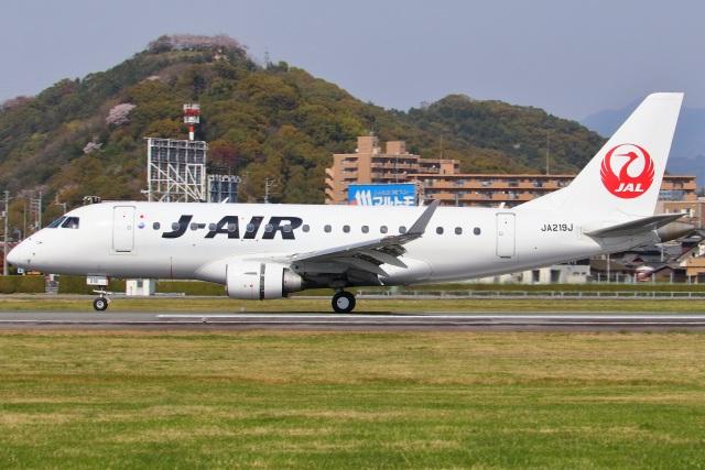 航空フォト:JA219J ジェイエア