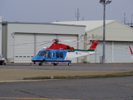 bannigsさんが、新潟空港で撮影した新潟県消防防災航空隊 AW139の航空フォト(飛行機 写真・画像)