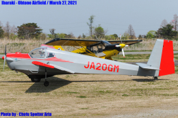 Chofu Spotter Ariaさんが、大利根飛行場で撮影した日本個人所有 SF-25B Falkeの航空フォト(飛行機 写真・画像)