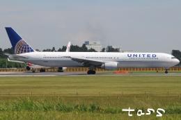 tassさんが、成田国際空港で撮影したユナイテッド航空 767-424/ERの航空フォト(飛行機 写真・画像)