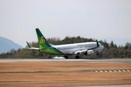 ヒロジーさんが、広島空港で撮影した春秋航空日本 737-8ALの航空フォト(飛行機 写真・画像)
