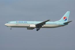 れぐぽよさんが、小松空港で撮影した大韓航空 737-9B5の航空フォト(飛行機 写真・画像)