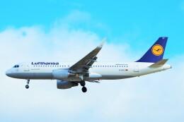 ちっとろむさんが、ロンドン・ヒースロー空港で撮影したルフトハンザドイツ航空 A320-214の航空フォト(飛行機 写真・画像)