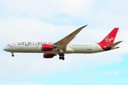 ちっとろむさんが、ロンドン・ヒースロー空港で撮影したヴァージン・アトランティック航空 787-9の航空フォト(飛行機 写真・画像)