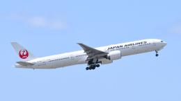 航空フォト:JA738J 日本航空 777-300