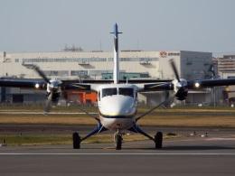 YaoRJOYさんが、八尾空港で撮影した第一航空 DHC-6-400 Twin Otterの航空フォト(飛行機 写真・画像)