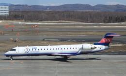 Rsaさんが、新千歳空港で撮影したアイベックスエアラインズ CL-600-2C10 Regional Jet CRJ-702ERの航空フォト(飛行機 写真・画像)