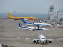 ヒロポンさんが、中部国際空港で撮影したDHL 777-F1Hの航空フォト(飛行機 写真・画像)