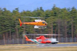 Nao0407さんが、松本空港で撮影した東邦航空 AS350B Ecureuilの航空フォト(飛行機 写真・画像)