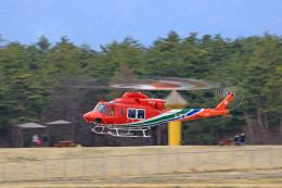 Nao0407さんが、松本空港で撮影した長野県消防防災航空隊 412EPIの航空フォト(飛行機 写真・画像)