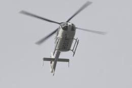 500さんが、自宅上空で撮影した静岡エアコミュータ EC135T2の航空フォト(飛行機 写真・画像)