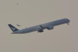 Cherry blossoms さんが、関西国際空港で撮影したキャセイパシフィック航空 A350-1041の航空フォト(飛行機 写真・画像)
