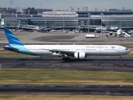 FT51ANさんが、羽田空港で撮影したガルーダ・インドネシア航空 777-3U3/ERの航空フォト(飛行機 写真・画像)